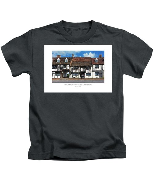The Paper Boy - East Grinstead Kids T-Shirt
