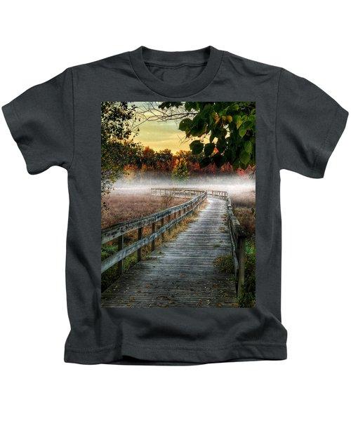 The Peaceful Path Kids T-Shirt