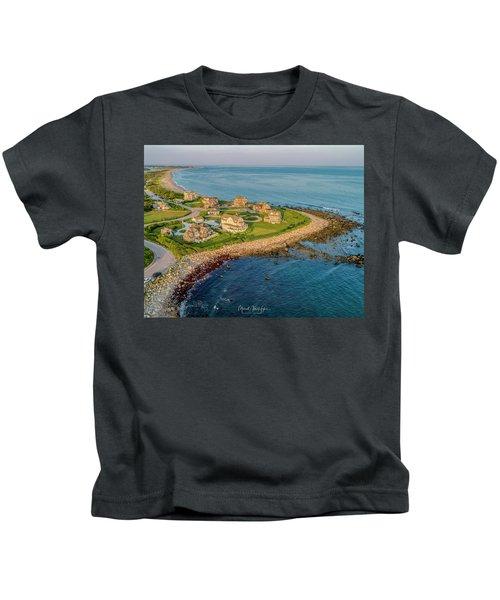 The Point At Weekapaug Kids T-Shirt