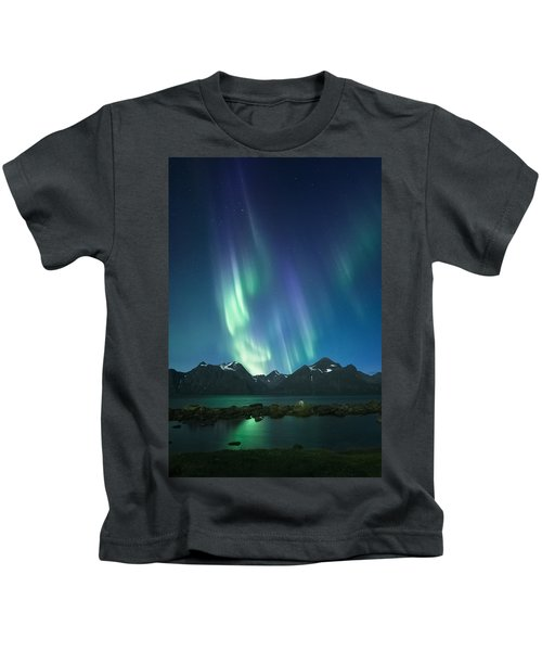 The Pond And The Fjord Kids T-Shirt