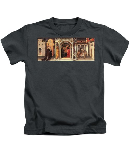 The Presentation In The Temple Kids T-Shirt by MotionAge Designs