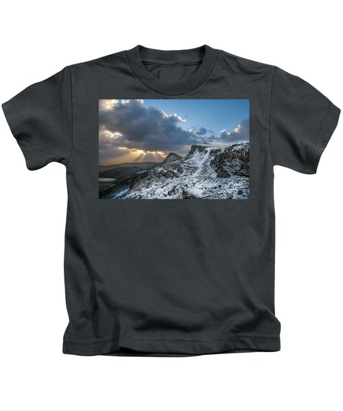 The Quiraing Just After Dawn Kids T-Shirt