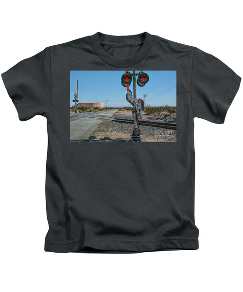 The Railway Crossing Kids T-Shirt