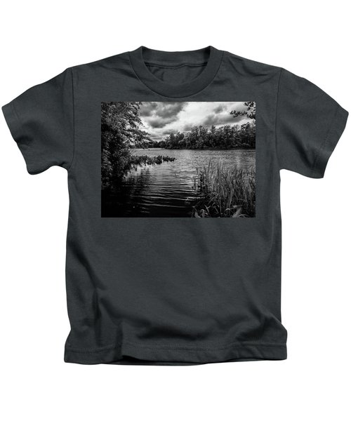 The Rancocas River Landscape Kids T-Shirt