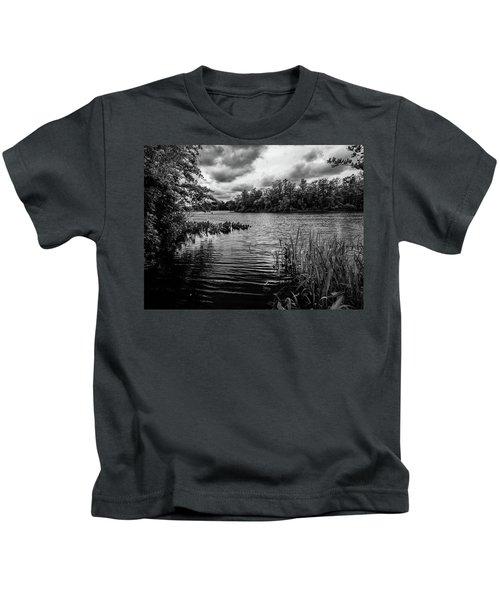 The Rancocas River Landscape Kids T-Shirt