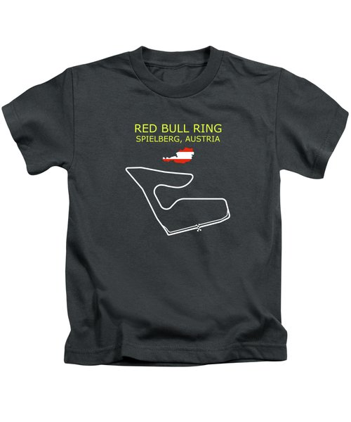 The Red Bull Ring Circuit Kids T-Shirt