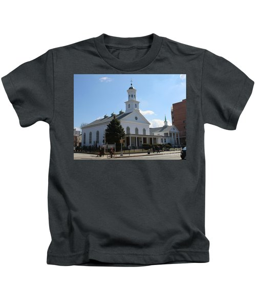 The Reformed Church Of Newtown- Kids T-Shirt