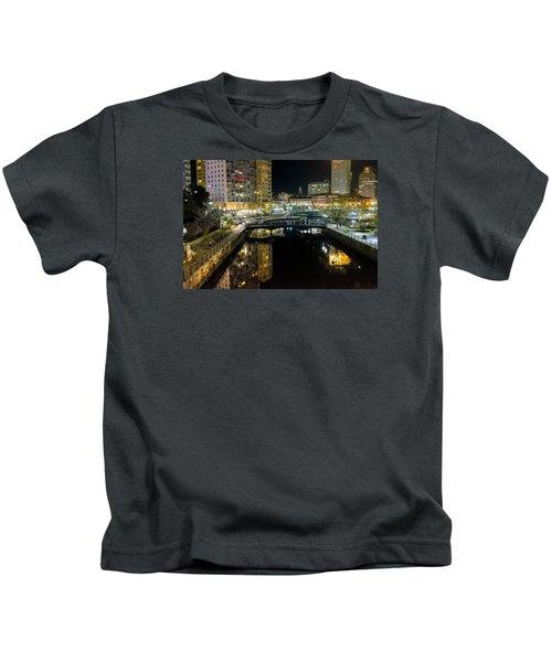 The River Walk Kids T-Shirt