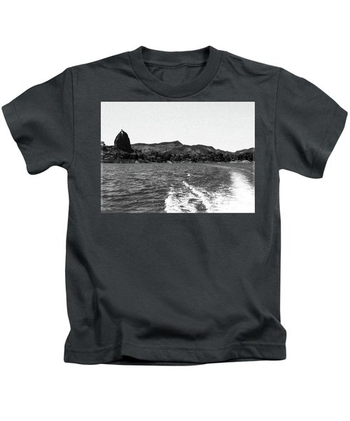 The Rock Of Guatape Kids T-Shirt