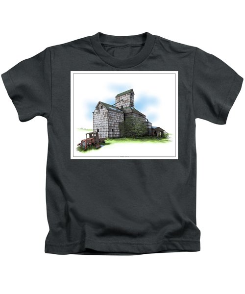 The Ross Elevator Spring Kids T-Shirt