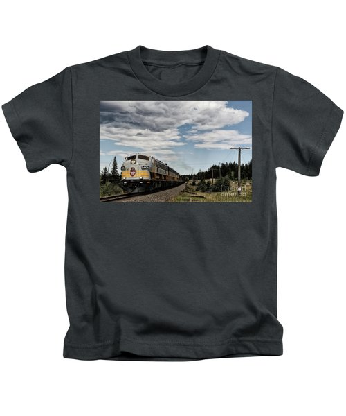 The Royal Canadian Pacific  Kids T-Shirt