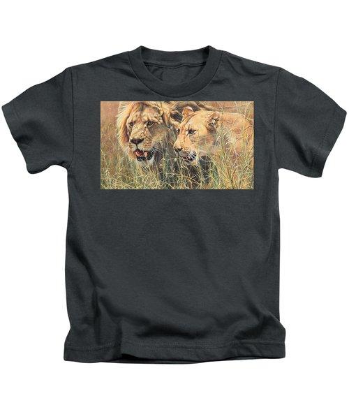 The Royal Couple II Kids T-Shirt