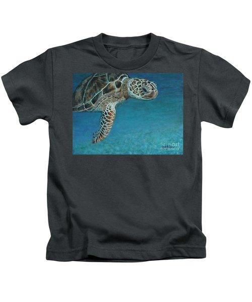 The Giant Sea Turtle Kids T-Shirt
