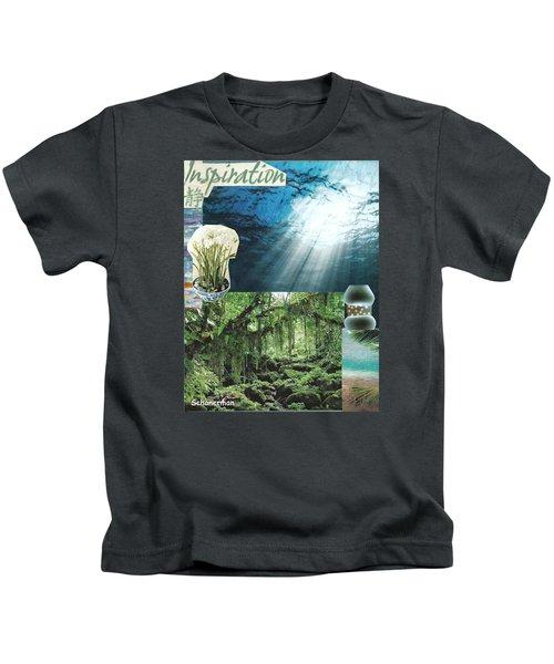 The Sight Of Inspiration Kids T-Shirt