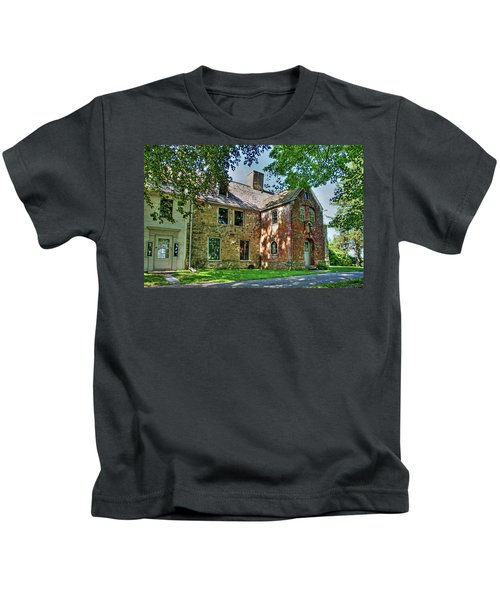 The Spencer-peirce-little House In Spring Kids T-Shirt