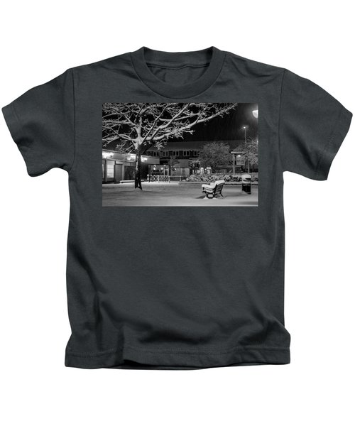 The Square In The Snow Kids T-Shirt