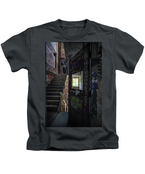 The Stairs Beyond The Door Kids T-Shirt