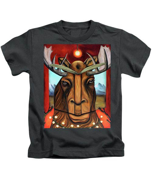 The Story Of Moose Kids T-Shirt