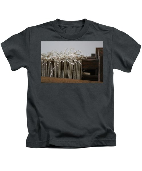 The Tales We Weave In Sepia Photograph Kids T-Shirt