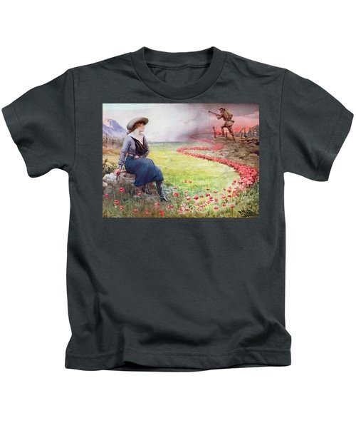 The Thin Red Line Kids T-Shirt