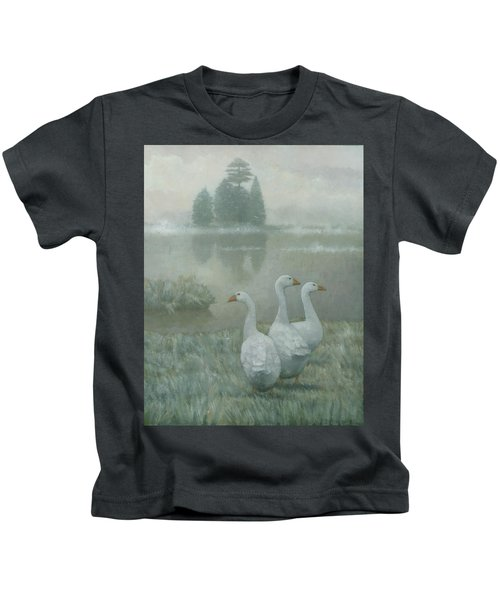 The Three Geese Kids T-Shirt