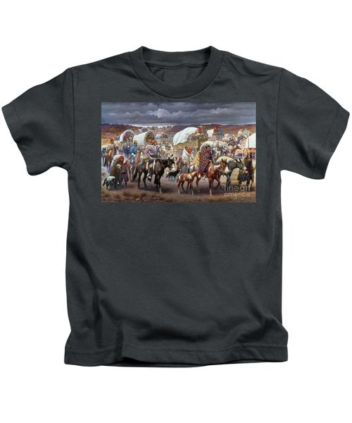 The Trail Of Tears Kids T-Shirt