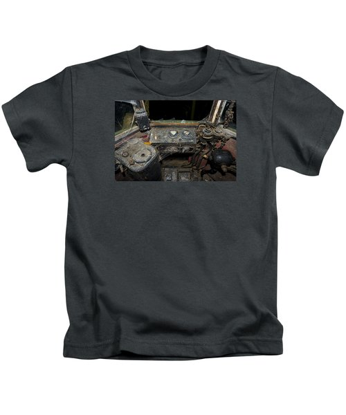 The Tram Leaves The Station... Instruments Kids T-Shirt