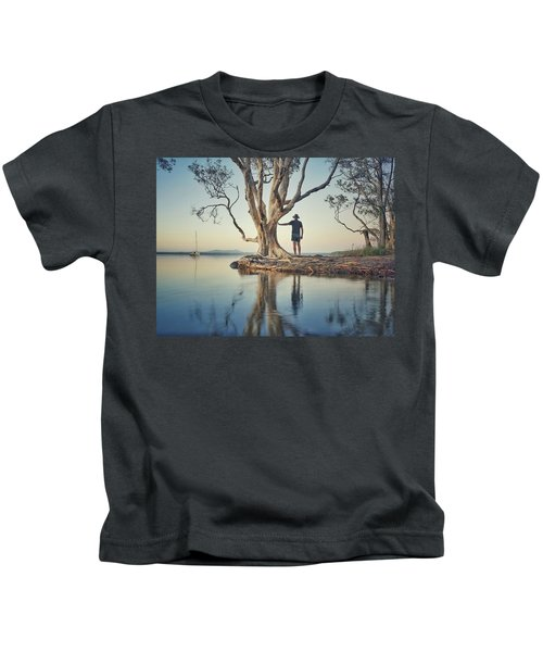 The Tree And Me Kids T-Shirt
