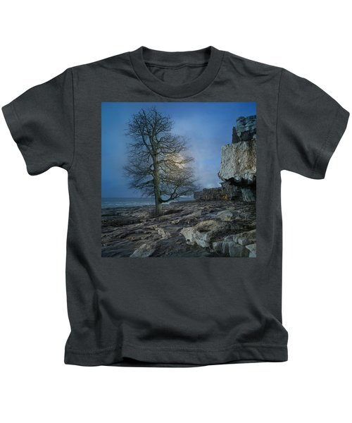 The Tree Of Inis Mor Kids T-Shirt