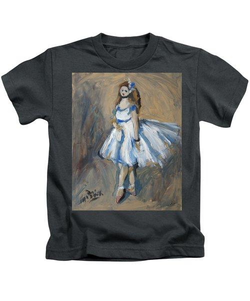 The Truth Lies Between Aguste Renoir And Marlene Dumas Kids T-Shirt by Nop Briex