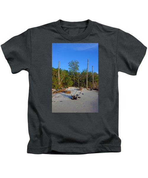The Unspoiled Beauty Of Barefoot Beach In Naples - Portrait Kids T-Shirt