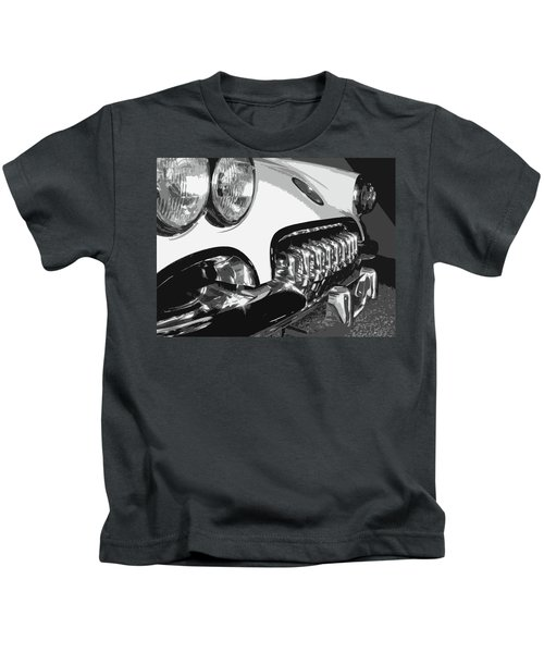 The Vette That Growled Kids T-Shirt