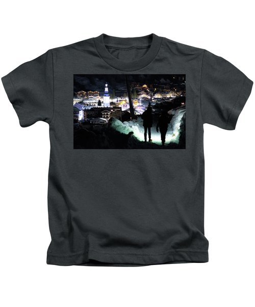 The Walk Into Town- Kids T-Shirt