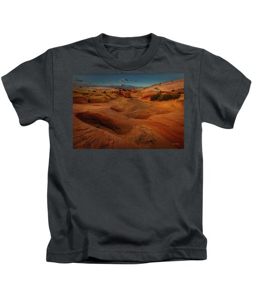 The Wash Of Subtle Shapes And Colors Kids T-Shirt