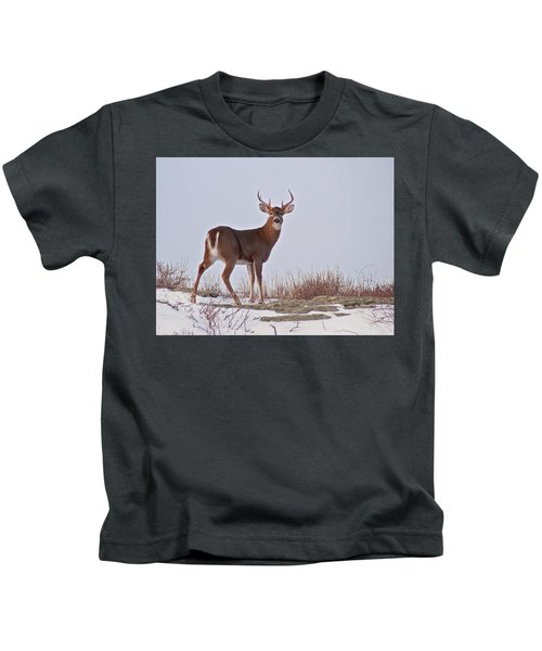 The Watchful Deer Kids T-Shirt
