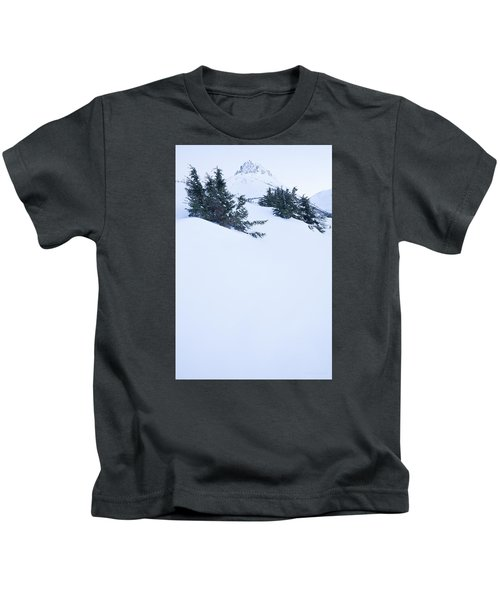 The Wedge In Winter Kids T-Shirt