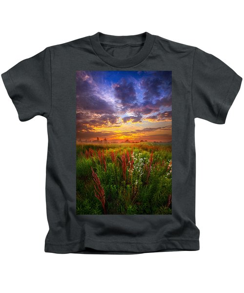 The Whispered Voice Within Kids T-Shirt
