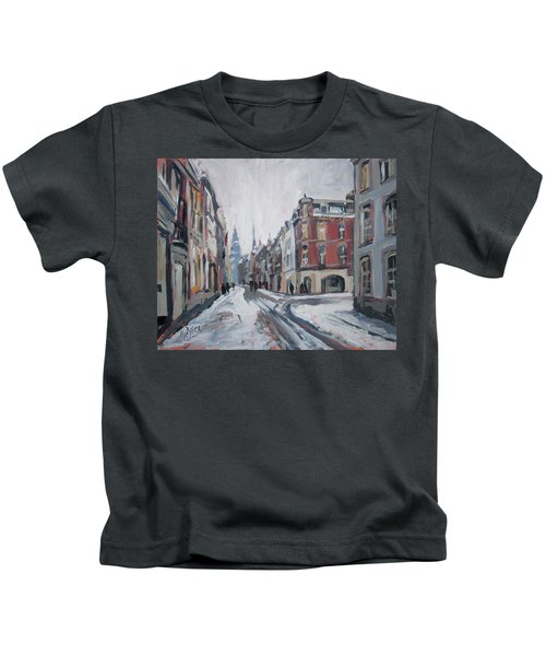 The White Grand Canal Street Maastricht Kids T-Shirt