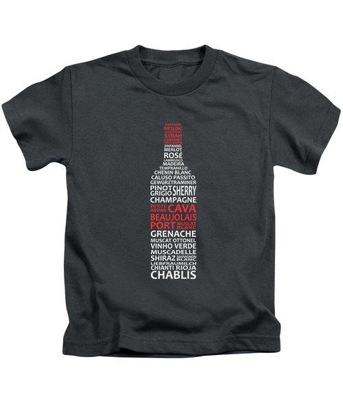The Wine Connoisseur Kids T-Shirt