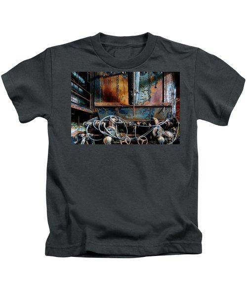 The Wizard's Music Box Kids T-Shirt
