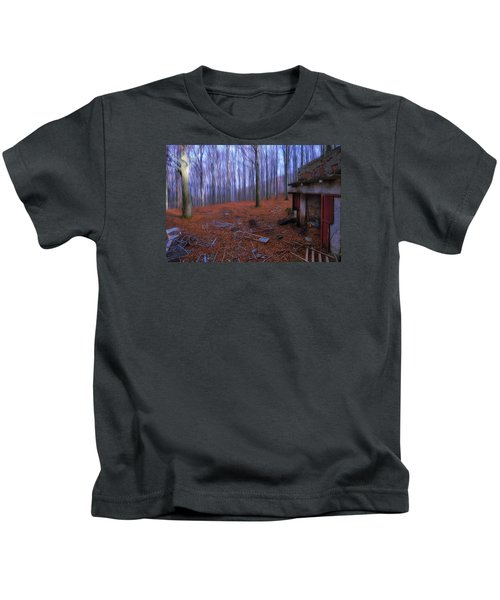 The Wood A La Magritte - Il Bosco A La Magritte Kids T-Shirt