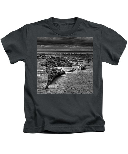 The Wreck Of The Steam Trawler Kids T-Shirt