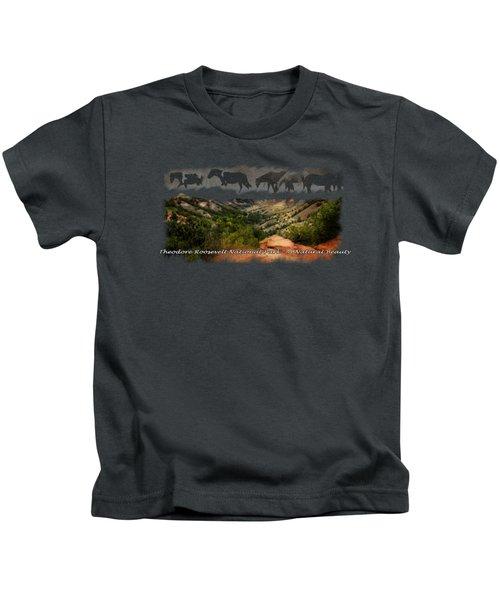 Theodore Roosevelt National Park Kids T-Shirt