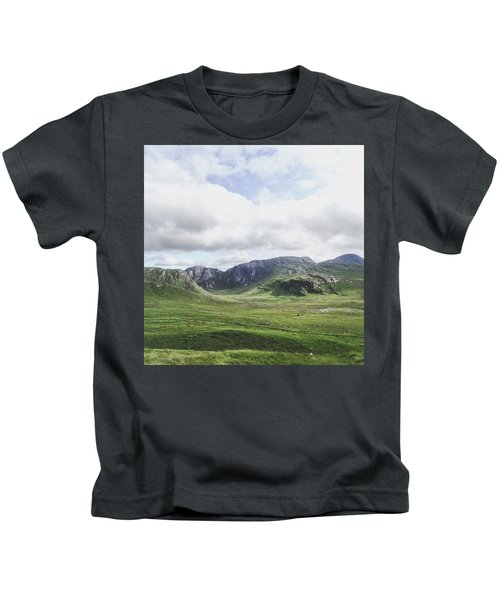 There's No Green Like Ireland's Green Kids T-Shirt