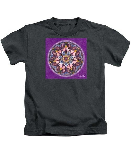 Third Eye Mandala Kids T-Shirt