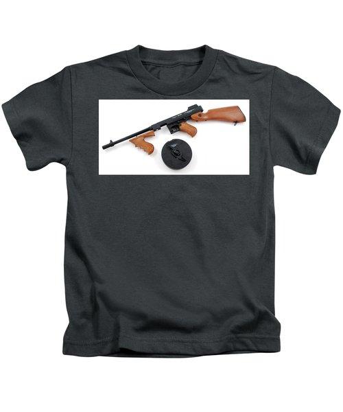 Thompson Submachine Gun Kids T-Shirt