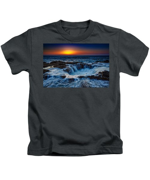 Thor's Well Kids T-Shirt