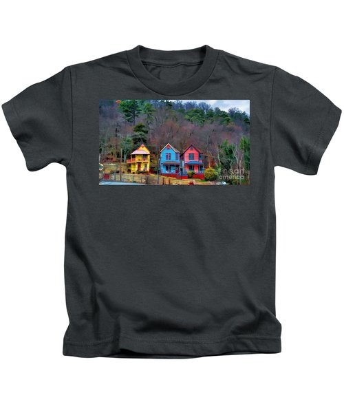 Three Houses Hot Springs Ar Kids T-Shirt