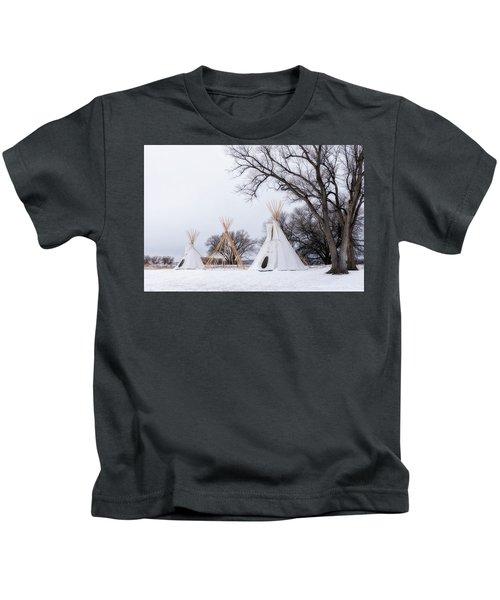 Three Tipis Kids T-Shirt
