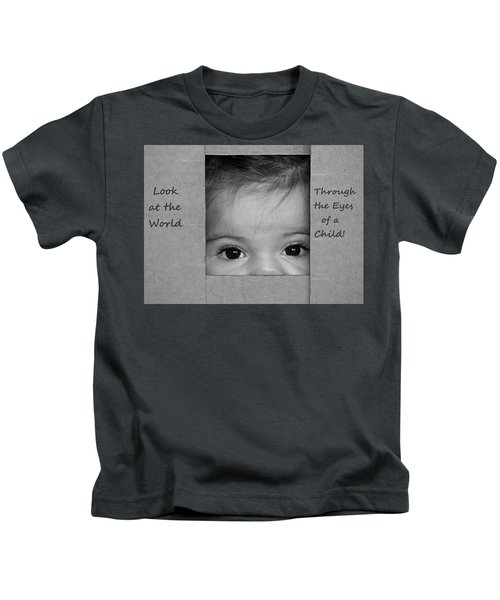 Through The Eyes Of A Child Kids T-Shirt